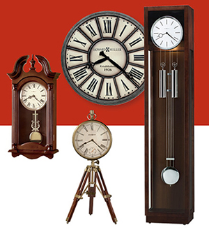 Clocks (Over 200 in stock)